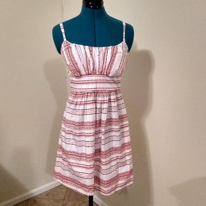 B. Smart Red and White Dress-Size 6